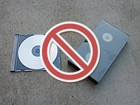 記録媒体類は混入禁止